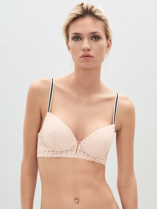 Bustier push up blush.