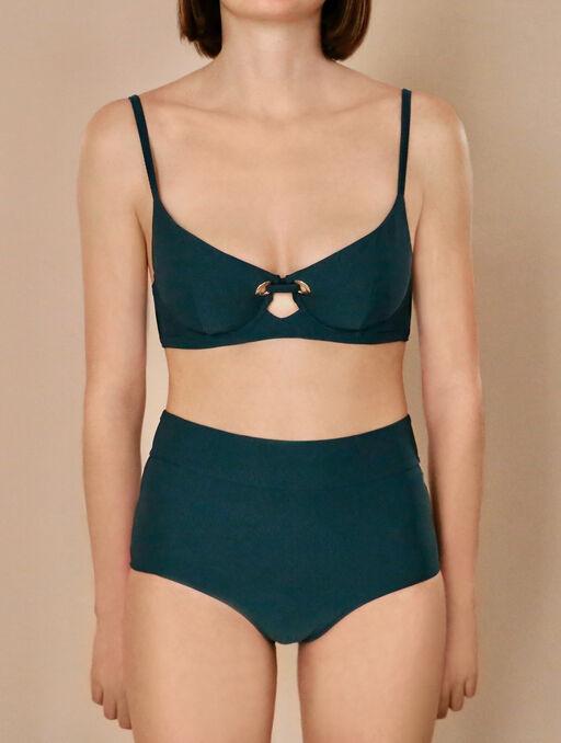 Culotte taille haute livystone green.
