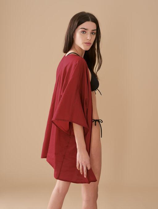 Kimono livystone red.