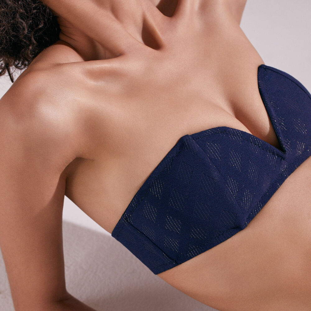 Bandeau livystone midnight navy.
