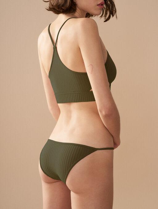 Bikini culotte green.